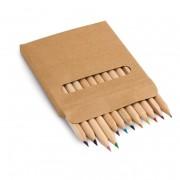 Caja con 12 lápices de color COLOURED