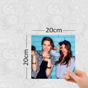 Agrandissement photo 20x20 cm