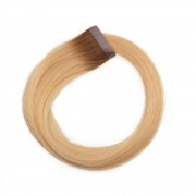 Rapunzel® Extensions Naturali Quick & Easy Original Liscio R5.0/8.3 Brown Honey Blonde Root 40 cm