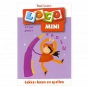 Lobbes Mini Loco Boekje Taal Lezen Groep 3