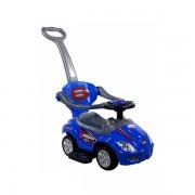 Masinuta de impins Arti 382 Mega Car Deluxe albastru