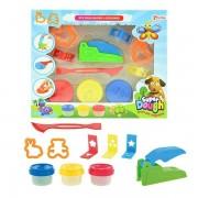 Set plastilina Toi-Toys Super Dough cu forme