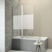 Get Wet Badwand Code L 2-delig 130x152 cm met Gesatineerde Band