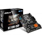 Placa de baza ASRock H110M-DVP, H110, DualDDR4-2133, SATA3, DVI, D-Sub, mATX