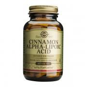 Cinnamon Alpha Lipoic 60tb (Scortisoara si Acid Alfa Lipoic) Solgar 60tb