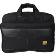 FD Fashion Laptop Messenger Bag Medium Briefcase - For Men & Women(Black)