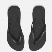 Havaianas Women's Slim Flip Flops - Black - EU 41-42/UK 8