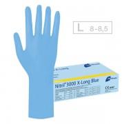 Meditrade Nitril 3000 X-Long Blue Handschuhe