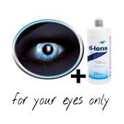 Lenti a contatto blu (UV Blue Diamond)