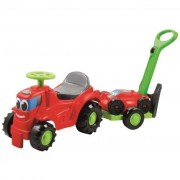 Ecoiffier Ride-On Tractor with Trailer and Lawn Mower 1430298