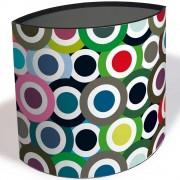 Remember Koš na odpadky, skládací kontejner na odpadky zdobený velkolepým vzorem, ideální pro dětské pokoje