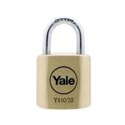 Lacat de alama cu cheie Yale Y110/20/111/1