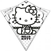 Color Me Kite 26 Inches Tyvek Diamond Kite: Hello Kitty