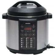 Multicooker Heinner HPCK-6IX, Gatit la presiune, 6 L, 15 programe, Negru/Inox