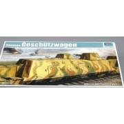 Trumpeter 1/35 Wwii German Army Geschutzwagen Cannon Rail Car [Toy] (Japan Import)