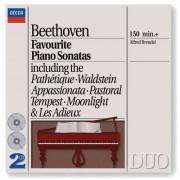 L Van Beethoven - Favourite Piano Sonates (0028943873024) (2 CD)