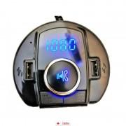 Car Kit Bluetooth Dual USB BX6 + CAR Triple, Car Holder