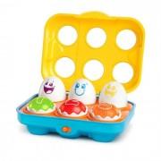 Bright Starts - Jucarie Put N Shake Eggs Giggling Gourmet