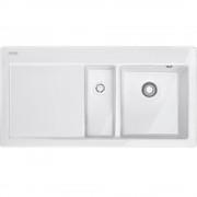 Chiuveta Franke Mythos MTK 651-100 Bianco, 1000 x 510mm, picurator stanga, 124.0335.709