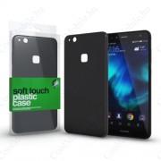 Xprotector Plasztik tok Soft-touch felülettel fekete Huawei P10 Lite készülékhez