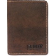 EL Mio Brand New Handmade Antique Classic and Royal Pure Genuine Rare Vintage Leather Fashionable and Stylish Designer 6 Card Holder(Set of 1, Brown)