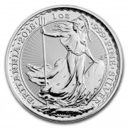 Britannia Stříbrná mince 1 Oz 2018