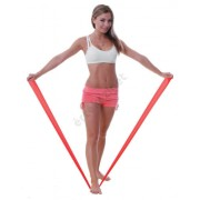 Fit-Band erősítő gumiszalag, 150cm, közepes, piros