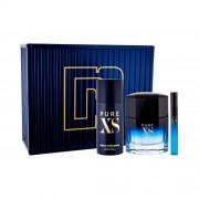 Paco Rabanne Pure XS set cadou apa de toaleta 100 ml + deodorant 150 ml + apa de toaleta 10 ml pentru bărbați