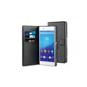 Husa Wallet Book Sony Xperia Z3 Black BeHello