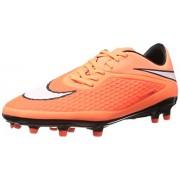 Nike Men's Hypervenom Phelon Fg Hyper Crimson,White,Atomic Orange,Black Football Boots -11 UK/India (46 EU)(12 US)