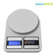Billionbag Digital SF 400 10kg Electronic Kitchen Weighing Scale(White)