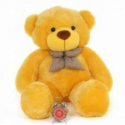 stuffed toy 5 feet soft and cute teddy bear - Yellow
