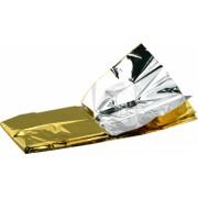 Patura izoterma Auriu-Argintiu dimensiuni 210x160cm 1 bucata