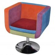 vidaXL foltvarrott dizájnú fotel