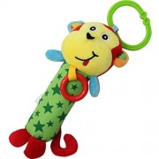 Babyfans Designs Soft Animal Model Handbells Rattles Zoo Baby Toy