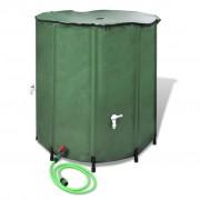 vidaXL Сгъваем резервоар за дъждовна вода, 500 литра
