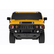 Magicwand 1:24 Remote Controlled H2 Hummer Car With Rechargeable Batteries And Charger, Yellow