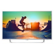 Televizor LED Philips 49PUS6482/12, 123 cm, Smart, Ultra HD 4K, Android, Ambilight, Argintiu