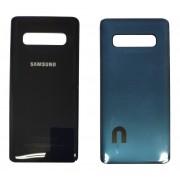 Tampa traseira para Samsung Galaxy S10 Plus preto