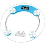 ShoppoStreet Electronic LCD Display Electronic Digital Personal Bathroom Health Body Weight Weighing Scale, weight scale digital, weight scale digital for human body Weighing Scale(Blue)