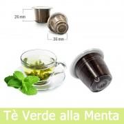 Caffè Kickkick 10 Tè Verde Alla Menta Compatibili Nespresso