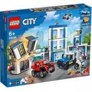 Конструктор Лего Сити - LEGO City Police 60246 - Полицейски участък, 0060246