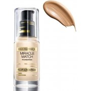 Max Factor Miracle Match Foundation 45 Warm Almond