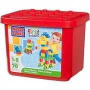 Mega Bloks First Builders Lots Of Bloks Building Set 70-Piece Tub
