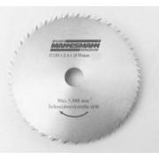 Disc Fierastrau Circular 254 x 25.4 mm / 60 Dinti, pt. M12830 - MANNESMANN - M12831