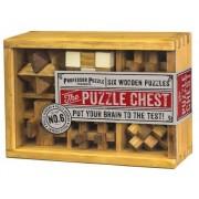 Fa ördöglakat 6 db-os készlet PP The Puzzle Chest 1449