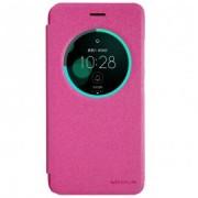 Husa Asus Zenfone 3 5.5 inch ZE552KL NILLKIN Sparkle S-View Flip Roz