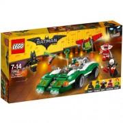 Set de constructie LEGO Batman Masina Enigmatica de Curse Riddler