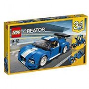 LEGO Creator Kocke 3u1 - Turbo Track Racer 31070