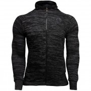 Gorilla Wear Keno Zipped Hoodie - Black/Gray - M
